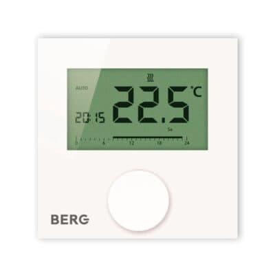 Цифровой программируемый термостат с подсвечиваемым дисплеем BERG BT50L-FS-230